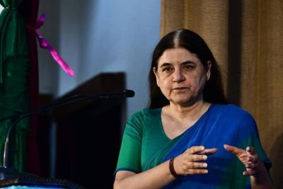 'Feels bad' when people say 'won't vote for lotus': Maneka Gandhi