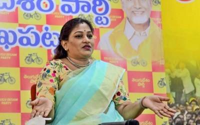 Telugu Mahila AP president accused government to fight against Corona situation