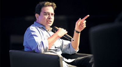 Telangana MA&UD Minister KT Rama Rao live session on twitter trending on top