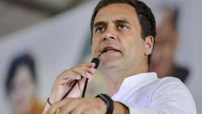 Rahul Gandhi mocks PM Modi over 'cloudy weather' remark
