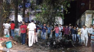 Violence at Amit Shah's roadshow in Kolkata