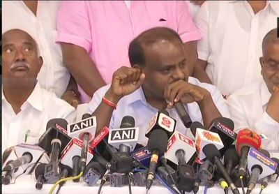 K'taka Polls : JD(S) MLAs are being offered Rs 100 crore each,  Kumaraswamy alleges