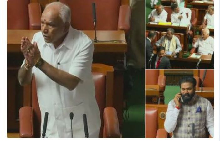 BSY to resign from CM-ship before  Karnataka Floor test