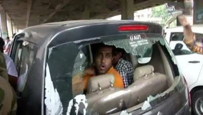 BJP workers, candidates allegedly attacked by TMC goons in West Bengal