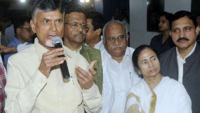 Chandrababu Naidu to meet Mamata Banerjee today