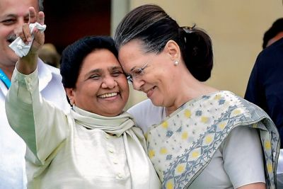 Mayawati Likely to meet Sonia Gandhi today