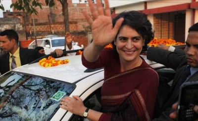 Priyanka Vadra appealed to party workers to not lose hope