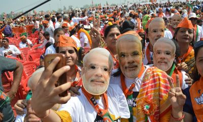 BJP takes lead on all seats in Gujarat state
