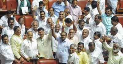 HD Kumaraswamy to take oath as K'taka CM today 4.30 PM
