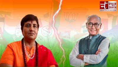 Sadhvi Pragya Singh Thakur leading from Bhopal Lok Sabha seat