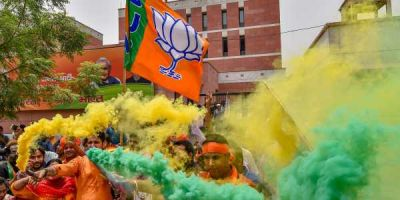 BJP Headquarters Echoes With 'Modi Modi' Chant