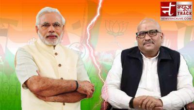 PM Narendra Modi in lead from Varanasi Constituency