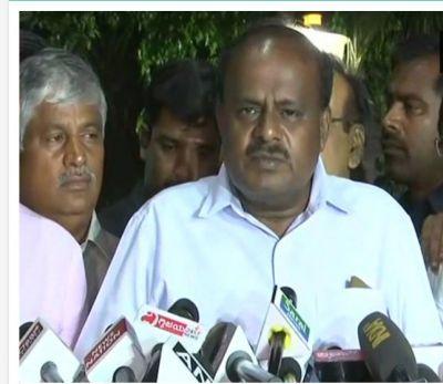 Newly sworn-in 24 th CM of K'taka Kumaraswamy to face floor test today