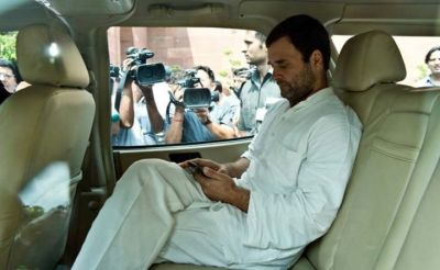 Despite denied permission, Congress party vice-president Rahul Gandhi heads for Saharanpur