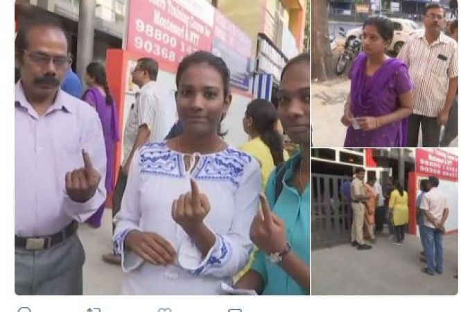 Karnataka: 21% voting recorded till 11 am in RR Nagar assembly election