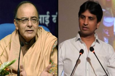 DDCA Case: Kumar Vishwas written apology to Arun Jaitley