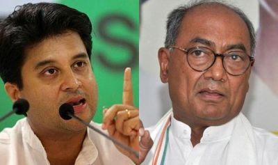 MP polls 2018 : Dispute between Digvijaya Singh and Jyotiraditya Scindia divides Congress