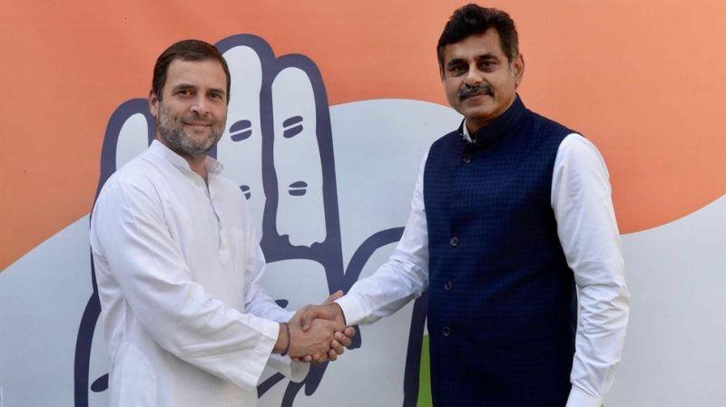 Telangana MP Konda Vishweshwar Reddy who quit TRS, meets Rahul Gandhi, may join Congress
