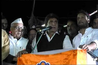 UP Cong chief Raj Babbar takes jibe at PM Modi's nonagenarian mother, asserts rupee inching closer to her age