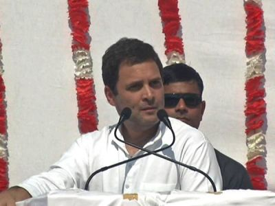 Rahul Promise to set up individual ministry for fisheries in Gujarat