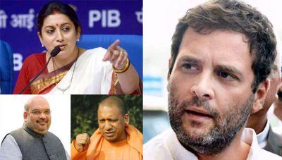 Rahul in Gujarat, Smriti Irani in Amethi: The battle of poll-bounds continues