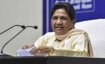 Sadhus not safe even in Saint's rule: Mayawati