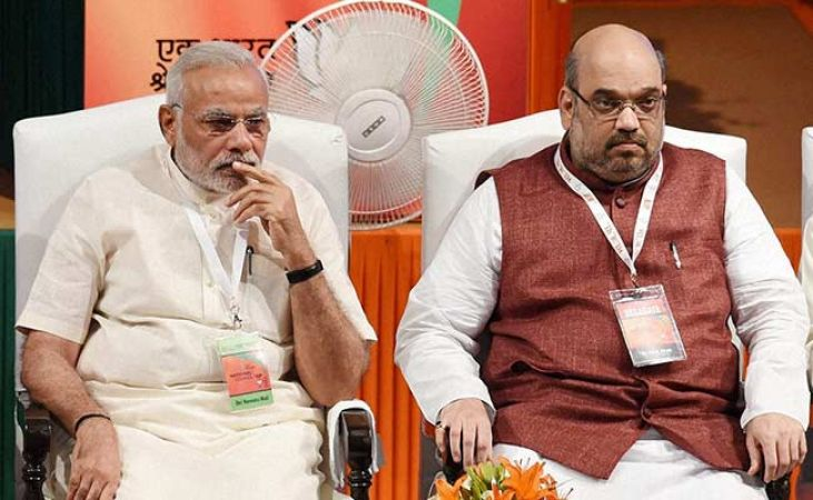 Stain on Modi's corruption-free government, he will drop out a minister on corruption charges