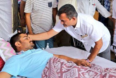 Hardik Patel admitted in hospital  following a deterioration in health on 14th day of Hunger strike