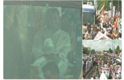 Rahul Gandhi arrives in Bhopal: Congress Sankalp Yatra kickstarts in  the poll-bound MP