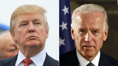 Donald Trump mocks Joe Biden for touching women inappropriately
