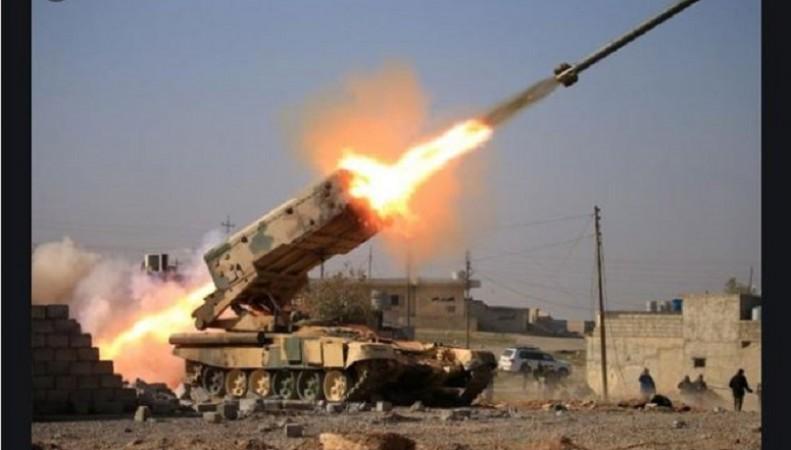 इराक हवाई हमले में इस्लामिक स्टेट के 60 आतंकवादी हुए ढेर