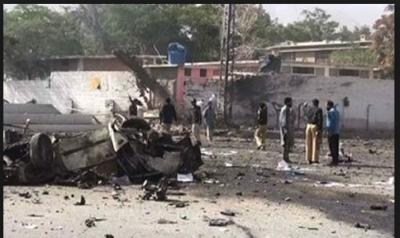Bomb Blast in Pakistan Quetta, atleast 16 people killed and 30 injured