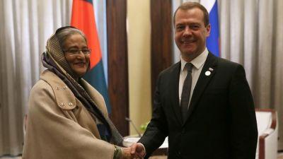 Bangladesh PM Sheikh Hasina invites Russian PM to visit their county