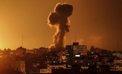 Israel strikes several targets in Gaza after Palestinian militants fired a rocket