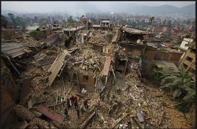 A sequence of three Earthquake shaken Nepal in early hours, residents get panic