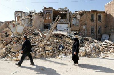 Severe earthquake tremors of 6.0 in western Iran, two dead