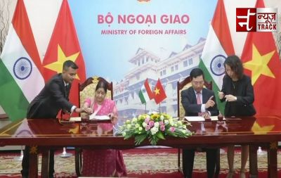 EA Minister Sushma Swaraj and Vietnam's FM sign MoUs between India and Vietnam