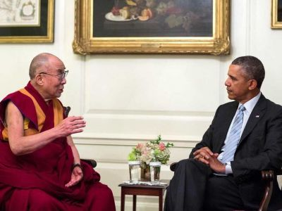 Dalai Lama exchanged views on global issues with Obama