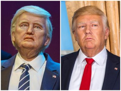 New member of Madame Tussauds Wax Museum, Trolled