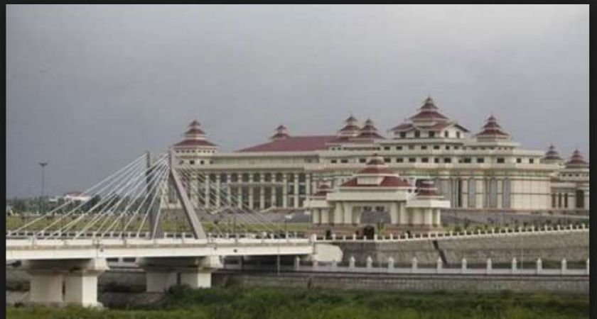 A French tourist arrested for flying a drone near Myanmar's parliament