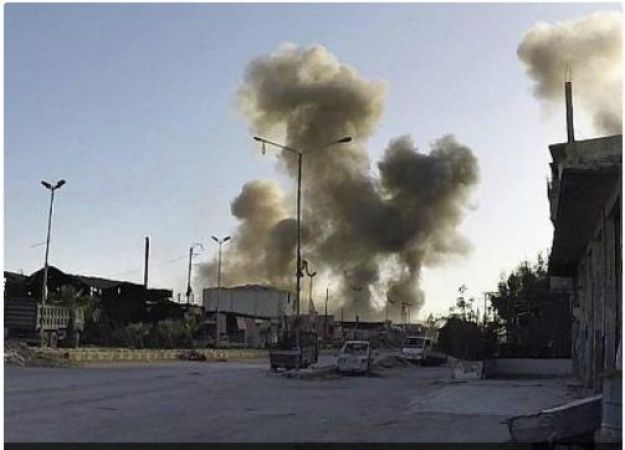 US-led coalition battled killed 16 civilians including seven children trying to flee the holdout