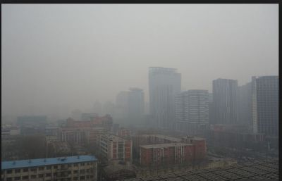 Air pollution in northern Chinese cities rose 16 percent