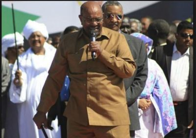 Sudanese protester Osman Sulaiman protest against President Omar al-Bashir