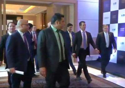 Trump Jr. meets real estate developers M3M India and Tribeca