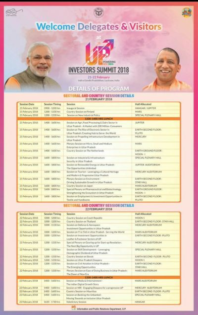 UP Investors summit 2018: Lucknow is set to welcome PM Modi and 18 Union ministers