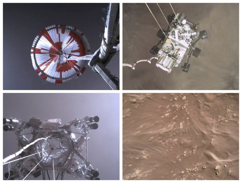 नासा ने जारी किया रोवर की डेयरडेविल लैंडिंग का पहला वीडियो, यहां देंखे