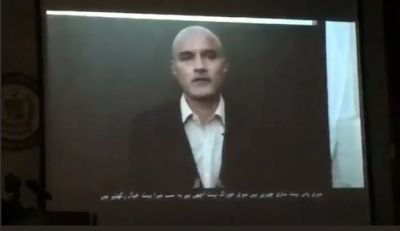 Pakistan Govt .aired another video of Kulbhushan Jadhav  razzing questions