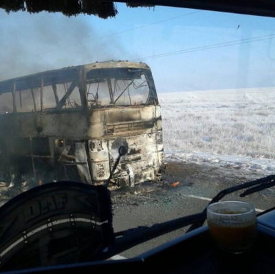 Nearly 52 people killed in bus accident: Kazakhstan