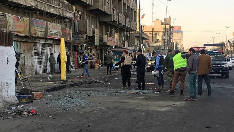 बगदाद में हुआ आत्मघाती बम हमला, 13 लोगों की हुई मौत