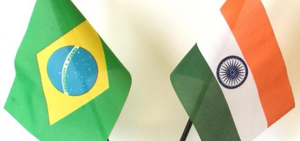ब्राजील के राजदूत ने किया भारत-ब्राजील साझेदारी को मजबूत करने का आह्वान